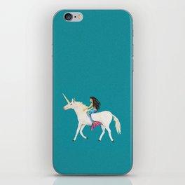 To the Land of Mermaids and Unicorns iPhone Skin