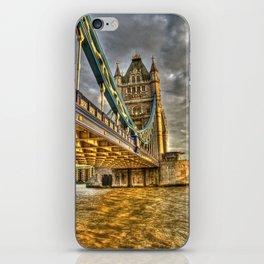 Sunset at Tower Bridge iPhone Skin