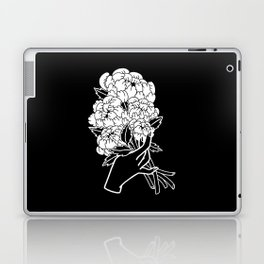 Peony Floral Bouquet Laptop & iPad Skin