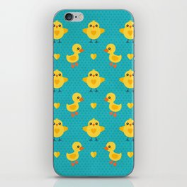 CHICKS AND DUCKLINGS iPhone Skin