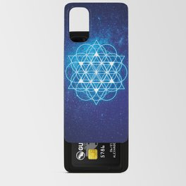 Sacred Geometry Android Card Case