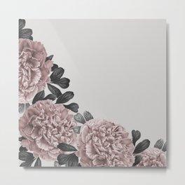 Dreaming in a flower garden Metal Print