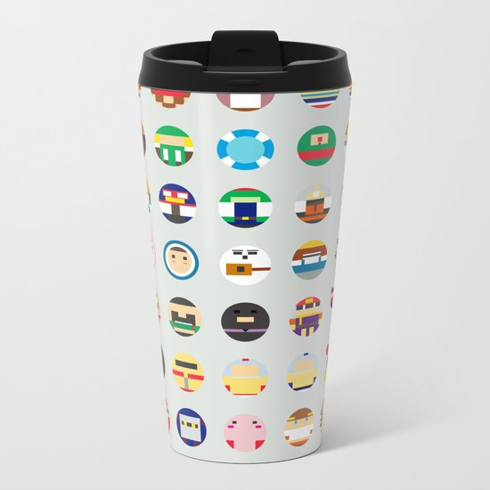 Mintendo Metal Travel Mug
