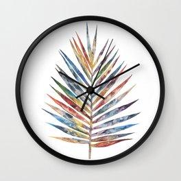 Palm leaf Wall Clock