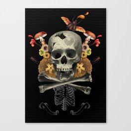 Hard Skull Canvas Print