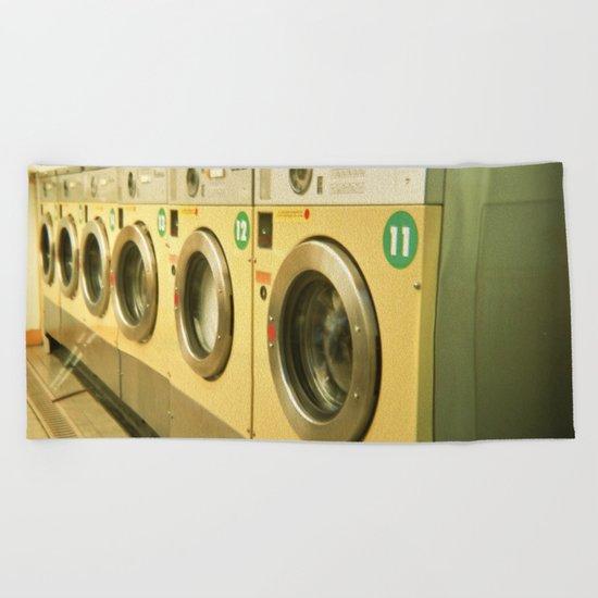 Laundromat Beach Towel