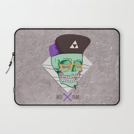 Hell Yeah Skull 3 Laptop Sleeve