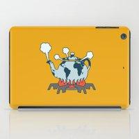 kafka iPad Cases featuring Teapot World by Thomas Kafka McCarthy