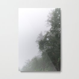 Foggy Morning in North Georgia Mountains 2 Metal Print