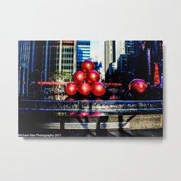 Christmas in New York Metal Print