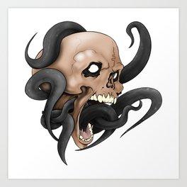 Calamari Art Print