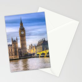 Westminster Bridge and Big Ben Stationery Cards