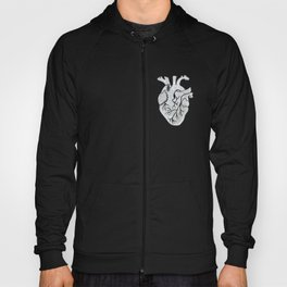 Anatomical Human Heart: Unusual Love Gift Hoody