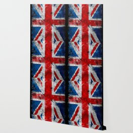 Great Britain grunge flag Wallpaper