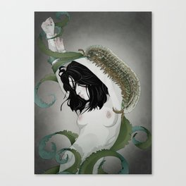 BUG GIRL Canvas Print