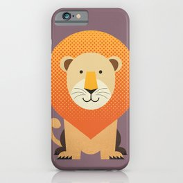 Whimsy Lion iPhone Case