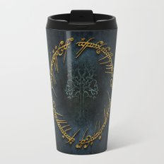 The Lord Of The Rings Logo Travel Mug