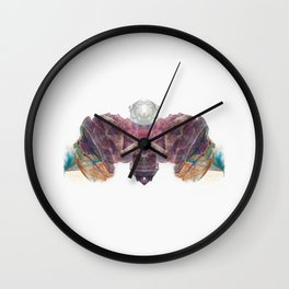 Inkdala XIV - Ink Blot Wall Clock