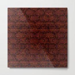 Textiles Asian Metal Print