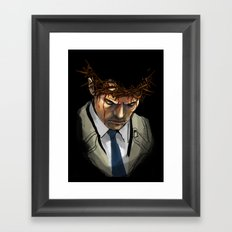 Martyr Framed Art Print