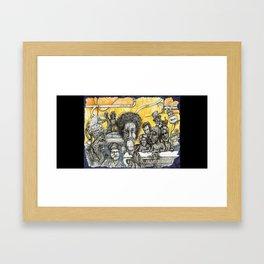 Political Controversy (Steven Harper) Framed Art Print