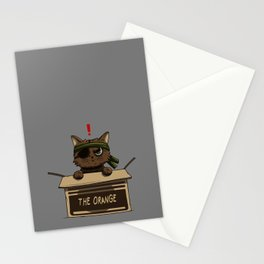 Meow Gear Solid Stationery Cards