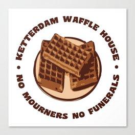 Ketterdam Waffle House Canvas Print