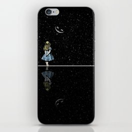 Alice In Wonderland Starry Night iPhone Skin