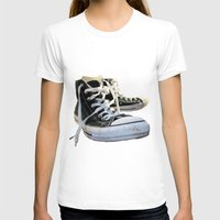 converse T-shirts featuring Converse by Jake Fishkind