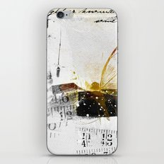 size matters iPhone Skin