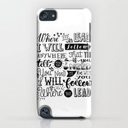 Where You Lead | Gilmore Girls iPhone Case