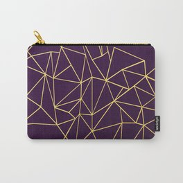 Ultra Purple Geo Carry-All Pouch