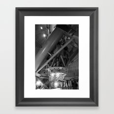 Macro(cosm)scope Framed Art Print