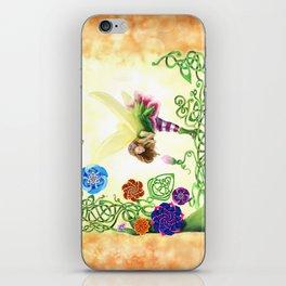 Flower Fairy iPhone Skin
