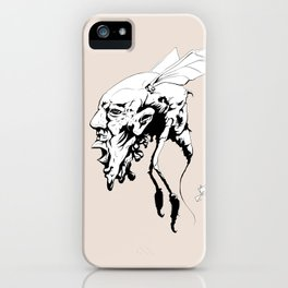 Bug Hed iPhone Case