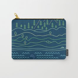 Outdoor solitude - line art Carry-All Pouch