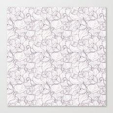 Fair Magnolias Canvas Print
