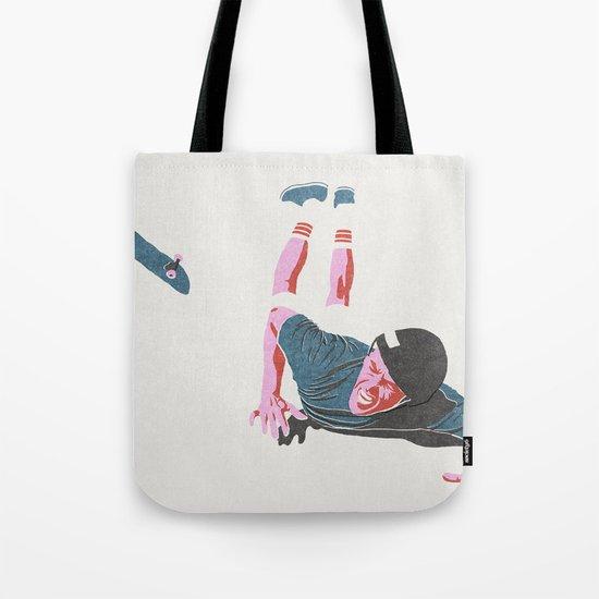 skateboarding 3 (lost time, risograph) Tote Bag