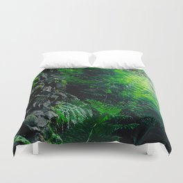 Rocks and Ferns Duvet Cover