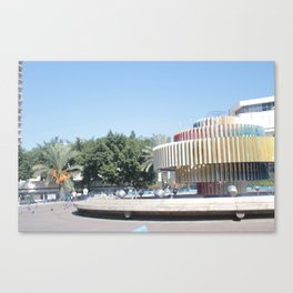 Tel Aviv photo - Dizengoff Square Canvas Print