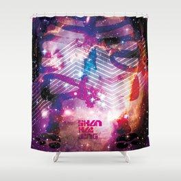 SHANHAIJING-BreadBear-HAI (Space Oddity I) Shower Curtain