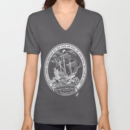 The Count of Monte Cristo Unisex V-Neck