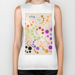 Abstract Composition 629 Biker Tank