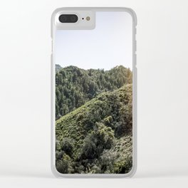 Up on the Mountain Top Clear iPhone Case