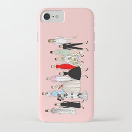 Audrey Hepburn Think Pink Outfits Fashion iPhone Case
