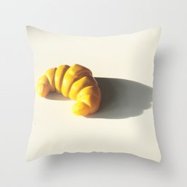 how to pronounce croissant? Throw Pillow