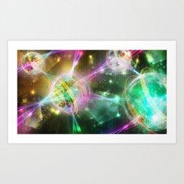 Magic Connection Art Print