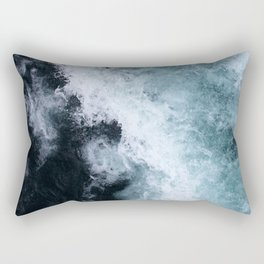 Ocean Wave #1 Rectangular Pillow