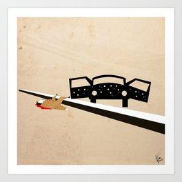 Santino Ambushed Art Print