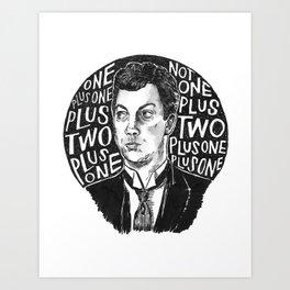 Clue Art Print